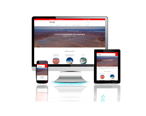 ACCIONA Industrial publishes its new website