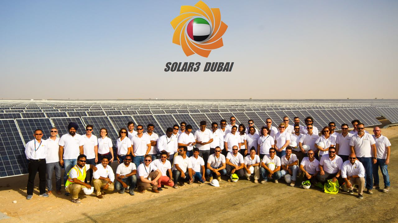 ACCIONA, Grupo Gransolar and Ghella complete the first stage of the Mohammed Bin Rashid Al Maktoum Solar Park