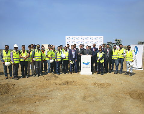 ACCIONA lays the first stone for IWP Shuqaiq-3, one of the largest desalination plants in Saudi Arabia