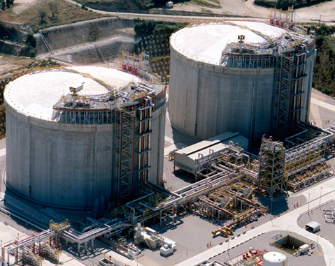 MUGARDOS LNG TANKS