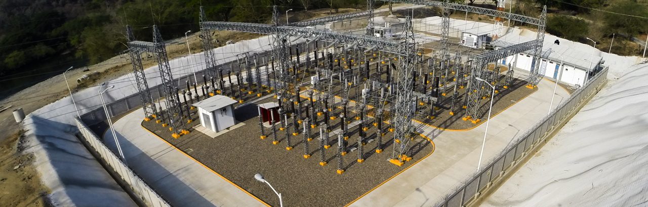 TRANSMISSION GRIDS AND ELECTRICAL SUBSTATIONS