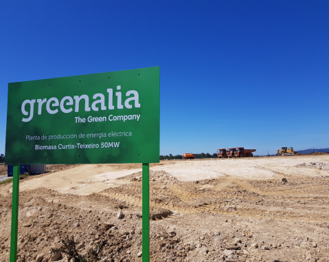 ACCIONA Industrial and IMASA to build and maintain Greenalia biomass plant in Teixeiro, La Coruña