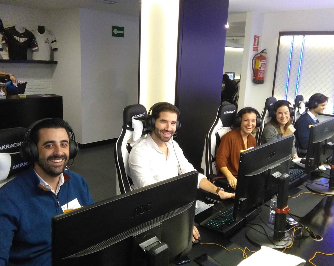 ACCIONA Industrial compite en la eSports Business League